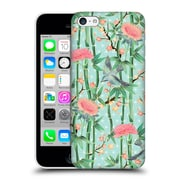 Official Micklyn Le Feuvre Patterns 3 Bamboo Birds And Blossoms On Soft Blue Green Hard Back Case For Apple Iphone 5C
