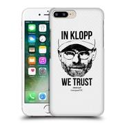 Official Liverpool Football Club Jurgen Klopp Full Face White Hard Back Case For Apple Iphone 7 Plus