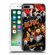 Official Ac/Dc Acdc Collage Group Soft Gel Case For Apple Iphone 7 Plus