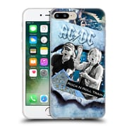 Official Ac/Dc Acdc Collage Rock And Roll Soft Gel Case For Apple Iphone 7 Plus
