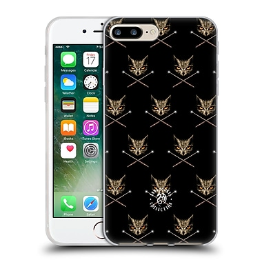 Official Anne Stokes Owls Cross Wands Patterns Soft Gel Case For Apple Iphone 7 Plus