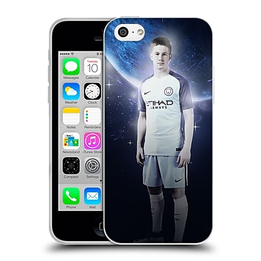 Official Manchester City Man City Fc Power Players De Bruyne Soft Gel Case For Apple Iphone 5C