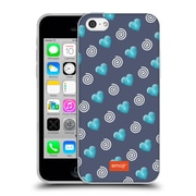 Official Emoji Winter Patterns Hearts And Swirls Soft Gel Case For Apple Iphone 5C