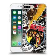Official Ac/Dc Acdc Collage Icons Soft Gel Case For Apple Iphone 7 Plus