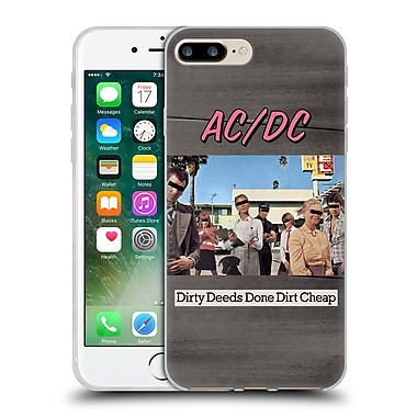 Official Ac/Dc Acdc Album Cover Dirty Deeds Done Dirty Cheap Soft Gel Case For Apple Iphone 7 Plus