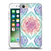 Official Micklyn Le Feuvre Floral Patterns Indian Ink Rainbow Version Soft Gel Case For Apple Iphone 7