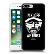 Official Liverpool Football Club Jurgen Klopp Full Face Black Hard Back Case For Apple Iphone 7 Plus