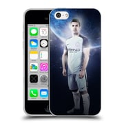 Official Manchester City Man City Fc Power Players Agaeero Soft Gel Case For Apple Iphone 5C