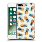 Official Micklyn Le Feuvre Patterns Pineapples And Crystals Soft Gel Case For Apple Iphone 7 Plus