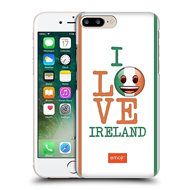 Official Emoji I Love My Country Ireland Hard Back Case For Apple Iphone 7 Plus