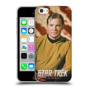 Official Star Trek Captain Kirk Stare Soft Gel Case For Apple Iphone 5C