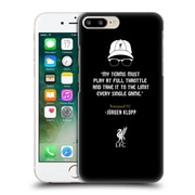 Official Liverpool Football Club Klopp Quotes Full Throttle Icon Hard Back Case For Apple Iphone 7 Plus