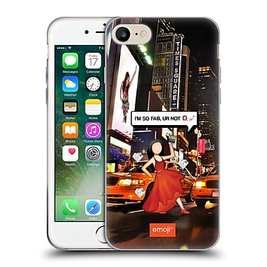 Official Emoji Photo Graphic So Fab Soft Gel Case For Apple Iphone 7