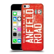 Official Liverpool Football Club Crest Never Walk Alone Anfield Road Red Hard Back Case For Apple Iphone 5C