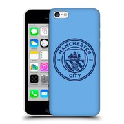 Official Manchester City Man City Fc Badge Blue Obsidian Mono Hard Back Case For Apple Iphone 5C