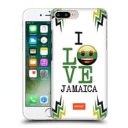 Official Emoji I Love My Country Jamaica Hard Back Case For Apple Iphone 7 Plus
