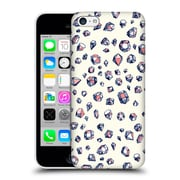 Official Micklyn Le Feuvre Patterns Navy And Coral Crystals Hard Back Case For Apple Iphone 5C