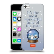 Official Emoji Winter Quotes Snow Globe Soft Gel Case For Apple Iphone 5C
