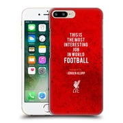 Official Liverpool Football Club Klopp Quotes Interesting Job Hard Back Case For Apple Iphone 7 Plus