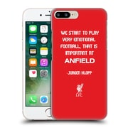 Official Liverpool Football Club Klopp Quotes Emotional Football Hard Back Case For Apple Iphone 7 Plus