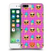 Official Emoji Happy Summer Pattern Hard Back Case For Apple Iphone 7 Plus