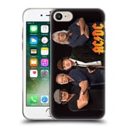 Official Ac/Dc Acdc Group Photo Band Studio Shot Soft Gel Case For Apple Iphone 7