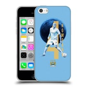 Official Manchester City Man City Fc Players Vincent Kompany Soft Gel Case For Apple Iphone 5C
