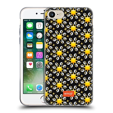Official Emoji Floral Patterns Moon And Sun Soft Gel Case For Apple Iphone 7