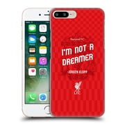 Official Liverpool Football Club Klopp Quotes Not A Dreamer Red Hard Back Case For Apple Iphone 7 Plus