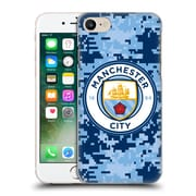 Official Manchester City Man City Fc Digital Camouflage Brick Bluemoon Hard Back Case For Apple Iphone 7