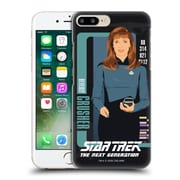Official Star Trek Iconic Characters Tng Beverly Crusher Hard Back Case For Apple Iphone 7 Plus