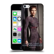 Official Star Trek Iconic Characters Ent Tpol Hard Back Case For Apple Iphone 5C