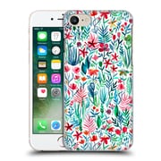 Official Micklyn Le Feuvre Watercolour Garden Tropical Ink White Hard Back Case For Apple Iphone 7