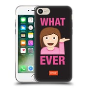 Official Emoji Flat Whatever Soft Gel Case For Apple Iphone 7
