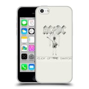 Official Ac/Dc Acdc Album Cover Flick Of The Switch Soft Gel Case For Apple Iphone 5C
