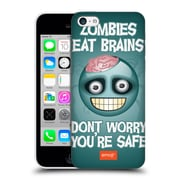 Official Emoji Halloween Parodies Zombie Brains Hard Back Case For Apple Iphone 5C