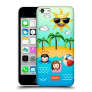 Official Emoji Happy Summer Beach Hard Back Case For Apple Iphone 5C