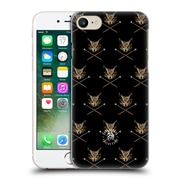 Official Anne Stokes Owls Cross Wands Patterns Hard Back Case For Apple Iphone 7