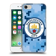 Official Manchester City Man City Fc Digital Camouflage Bluemoon Hard Back Case For Apple Iphone 7