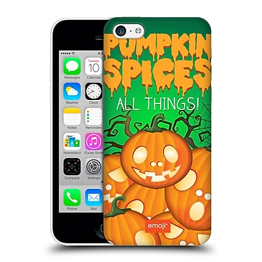 Official Emoji Halloween Parodies Pumpkin Spices Hard Back Case For Apple Iphone 5C