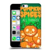 Official Emoji Halloween Parodies Pumpkin Spices Hard Back Case For Apple Iphone 5C