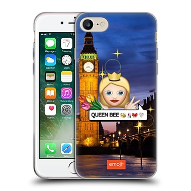 Official Emoji Photo Graphic Queen Soft Gel Case For Apple Iphone 7