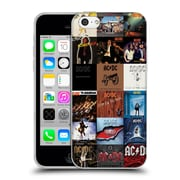 Official Ac/Dc Acdc Collage Album Covers Soft Gel Case For Apple Iphone 5C