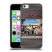 Official Ac/Dc Acdc Album Cover Dirty Deeds Done Dirty Cheap Soft Gel Case For Apple Iphone 5C