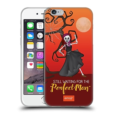 Official Emoji Halloween Parodies Perfect Man Soft Gel Case For Apple Iphone 6 / 6S