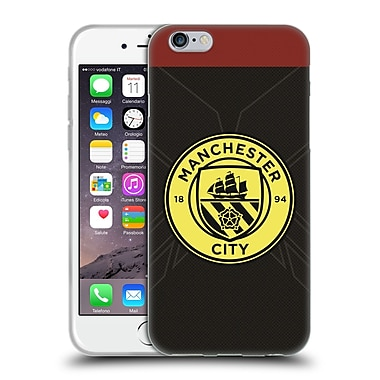Official Manchester City Man City Fc Badge Kit 2016/17 Away Soft Gel Case For Apple Iphone 6 / 6S