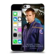 Official Star Trek Iconic Characters Ent Jonathan Archer Hard Back Case For Apple Iphone 5C