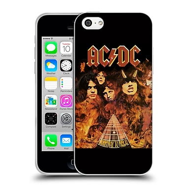 Official Ac/Dc Acdc Album Cover Highway To Hell Fire Soft Gel Case For Apple Iphone 5C