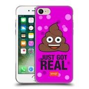 Official Emoji Flat Poop Soft Gel Case For Apple Iphone 7