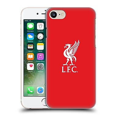 Official Liverpool Football Club Liver Bird White Logo In Red Hard Back Case For Apple Iphone 7